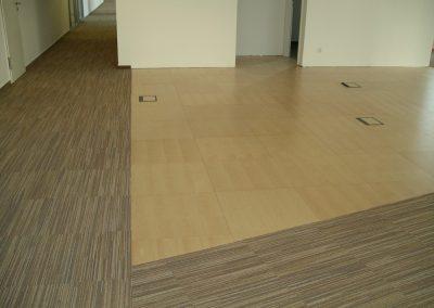 Irodaház álpadló szőnyeg és Wicanders 1