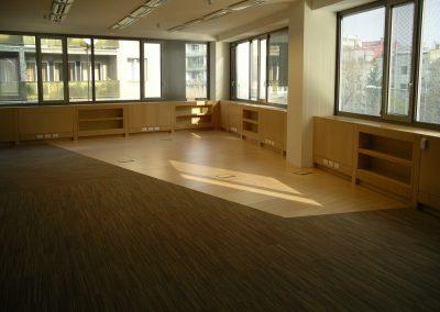 Irodaház álpadló szőnyeg és Wicanders 2