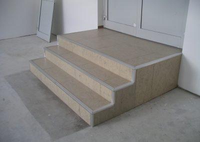 Lépcső álpadlóból 1