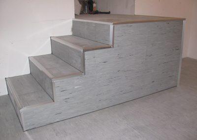 Lépcső álpadlóból 2
